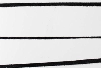 Surfaceform Bespoke Lined Polished Plaster Black and white