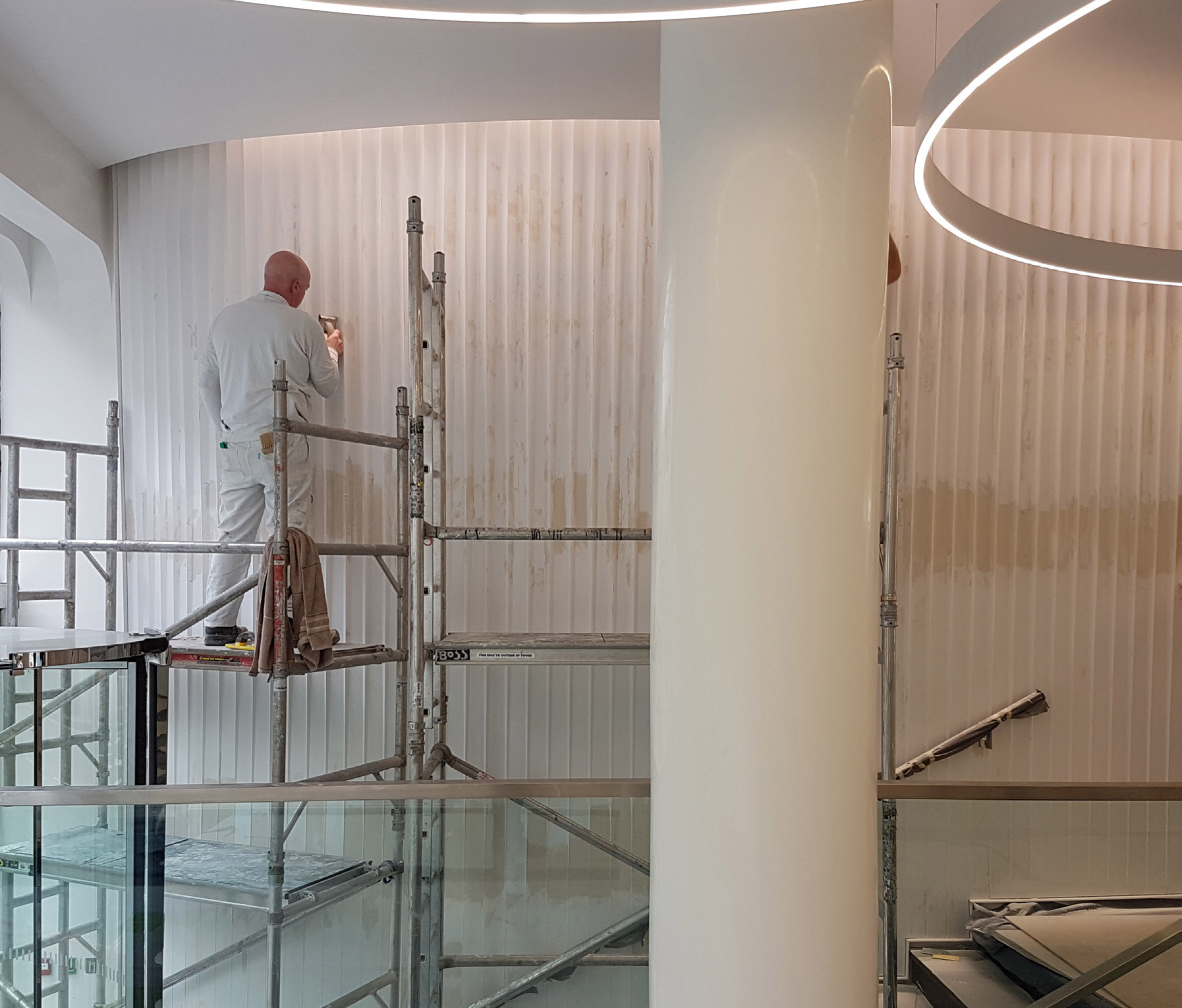 Relief Plaster install London