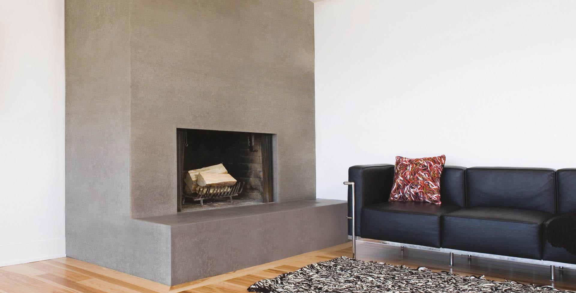 polished plaster stucco