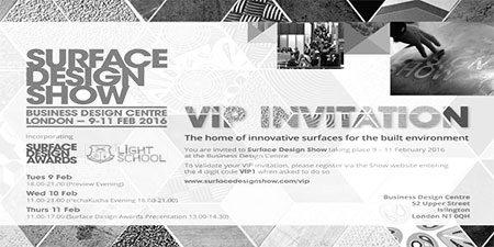 Surfaceform Surface Design Show 2016