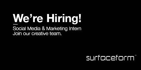 Surfaceform hiring job