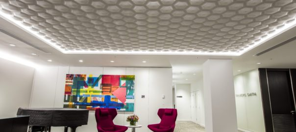 Surfaceform Relief Plaster Hexagon