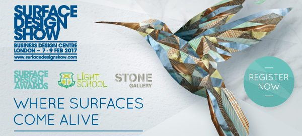 Surfaceform Stand 334 Surface Design Show 2017